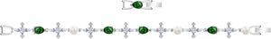 Браслет Swarovski PERFECTION 5493102 M