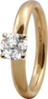 Кольцо CC 800-3.11.B/49 Topaz Solitaire gold