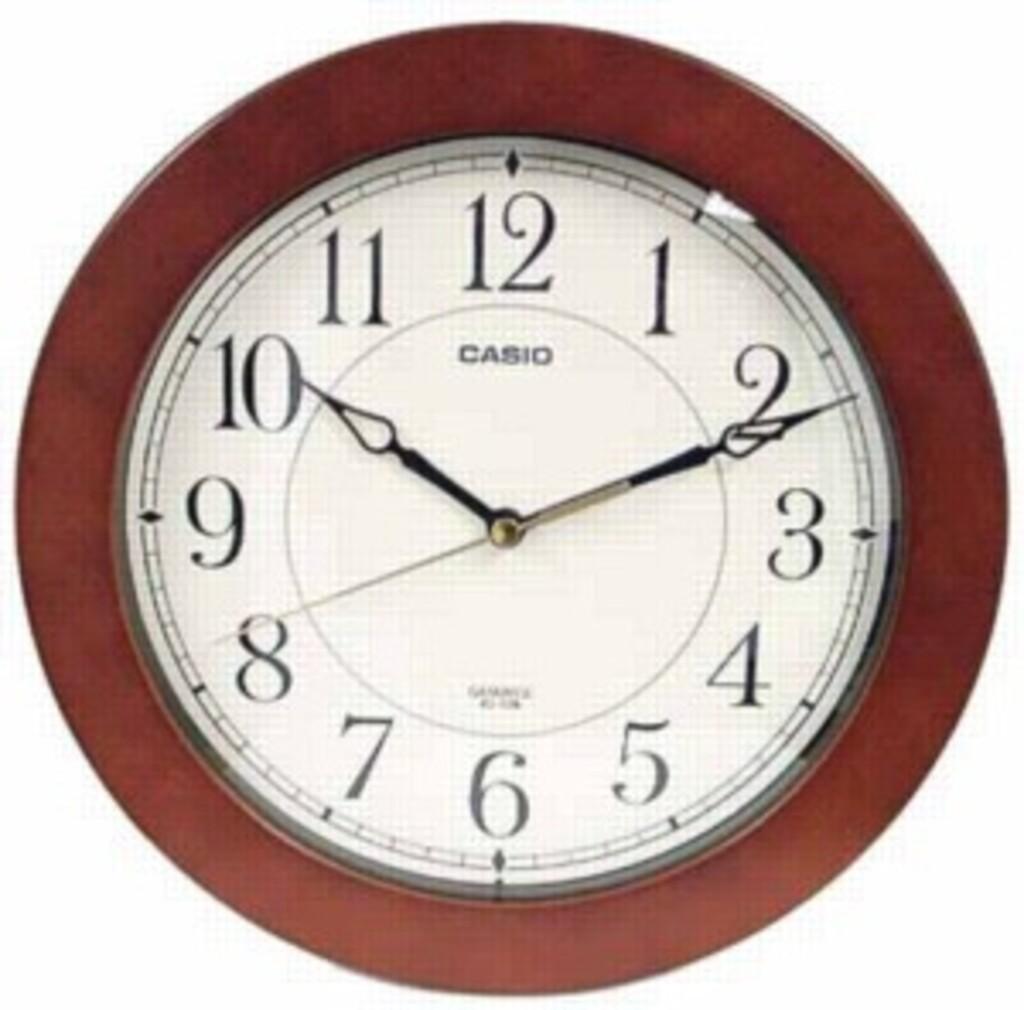 Настенные часы Casio IQ-126-5DF