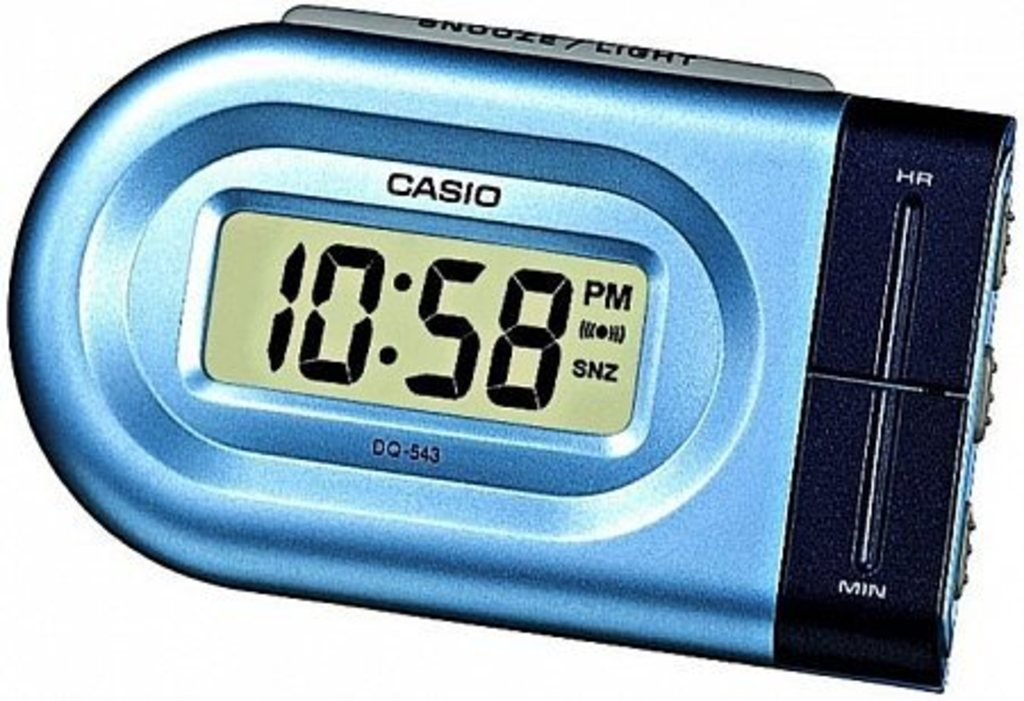 Будильники Casio DQ-543-2EF