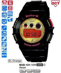 Часы CASIO BGD-121-1ER - Дека