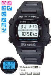 Часы CASIO W-740-1VHDF - Дека