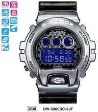 Часы CASIO DW-6900SC-8ER - Дека