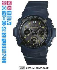 Часы CASIO AWG-M100NV-2AER - Дека