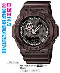 Часы CASIO GA-300A-5AER - Дека