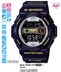 Часы CASIO GLX-150B-6ER - Дека