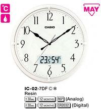Часы CASIO IC-02-7DF - Дека