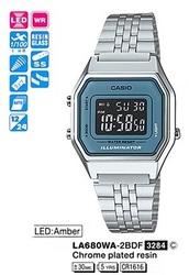 Часы CASIO LA680WA-2BDF - Дека