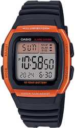 Часы CASIO W-96H-4A2VEF - Дека