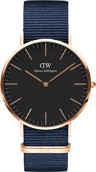 Часы Daniel Wellington DW00100277 Classic 40 Bayswater RG Black — ДЕКА