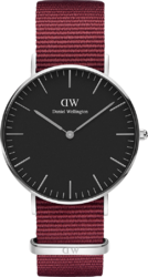 Часы Daniel Wellington DW00100274 Classic 36 Roselyn S Black - Дека
