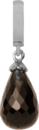 Christina Charms hangers - smokey quartz drop 610-S01Smokey