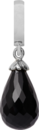 Christina Charms hangers - black onyx drop 610-S01Black