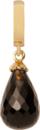 Christina Charms hangers - smokey quartz drop 610-G01Smokey