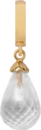 Christina Charms hangers - crystal quartz drop 610-G01Crystal